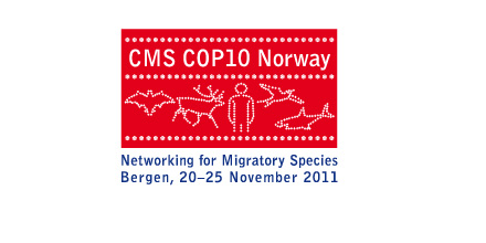 Logo: CMS COP10 Norway