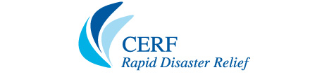 Logo: CERF, Rapid Disaster Relief